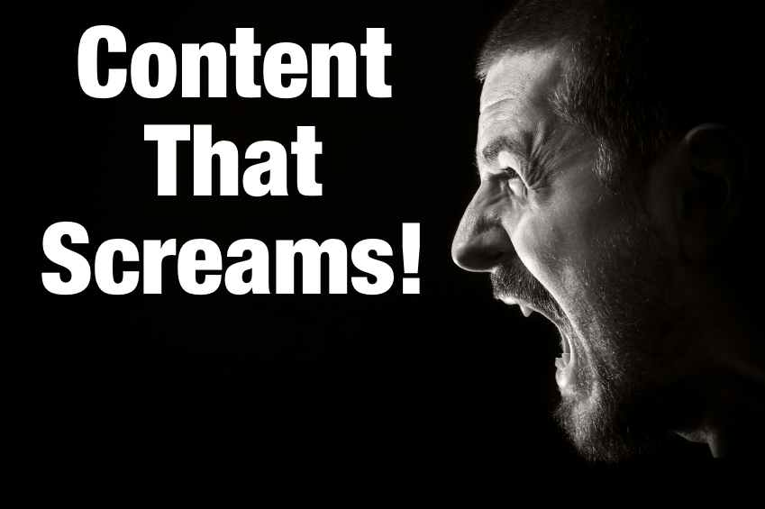 You need content that screams to be shared