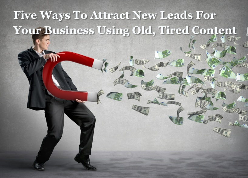 lead magnet - new leads for your business
