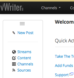 vWriter.com launches a raft of new and exciting functionality designed to optimize your use of social media