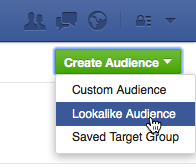 Let Facebook find you a lookalike audience you can then advertise to