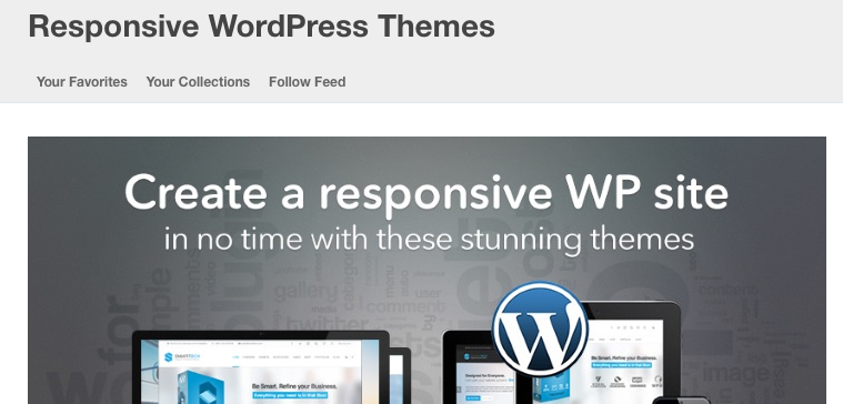 Themeforest have a good selection of responsive WordPress themes