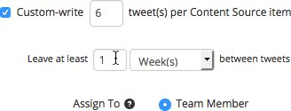 Using vWriter to schedule multiple tweets for every post you write