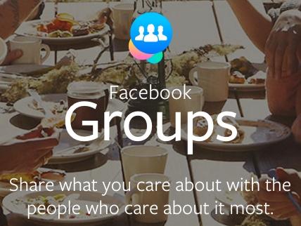 Repurpose content on Facebook Groups to spark discussion and conversation.