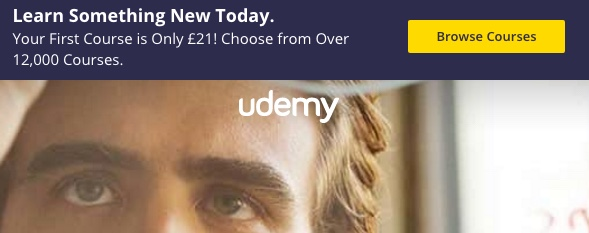 Udemy course