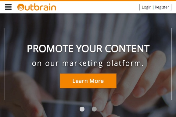 Use Outbrain to amplify your content