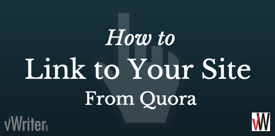 You need to link back to your site from Quora in the right way - here are the main principles to follow