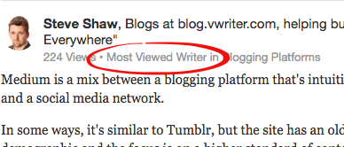 When Quora accolades are displayed with your content, it gives your answer more authority