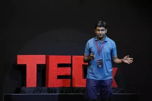 Harsh Snehanshu spoke at TEDx after an answer went viral on Quora