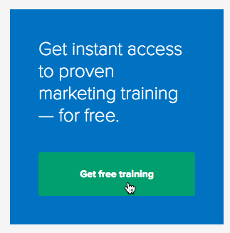 Example of a sidebar opt-in ad