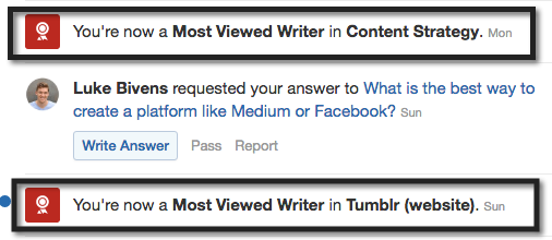 By answering questions strategically, you can rapidly acquire new Most Viewed Writer accolades