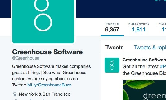 Greenhouse Software used Twitter ads