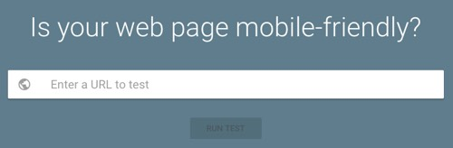 Is your web page mobile-friendly? This is now essential for SEO.