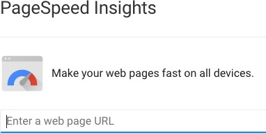 Check the speed of your site - help boost your site's SEO