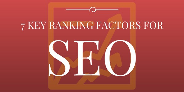 7 key ranking factors for SEO