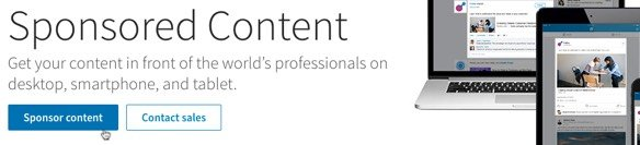 LinkedIn Sponsored Content can help amplify your content marketing