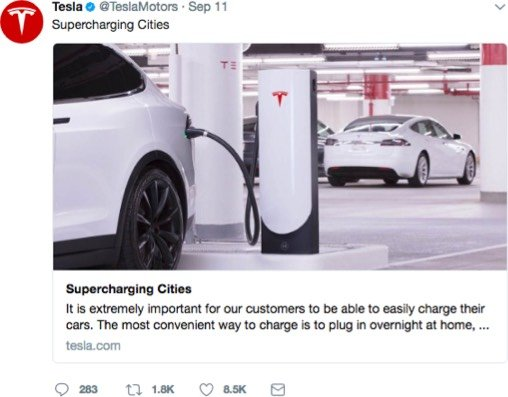 Social media best practices on Twitter - Tesla